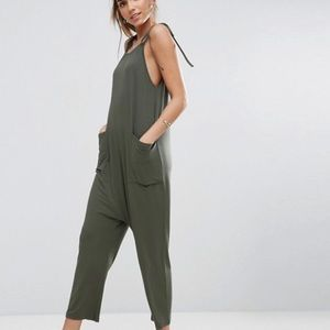 Asos Green Jumpsuit